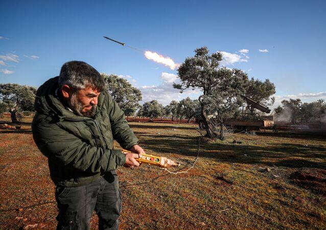 Wystrzelenie pocisku, Idlib