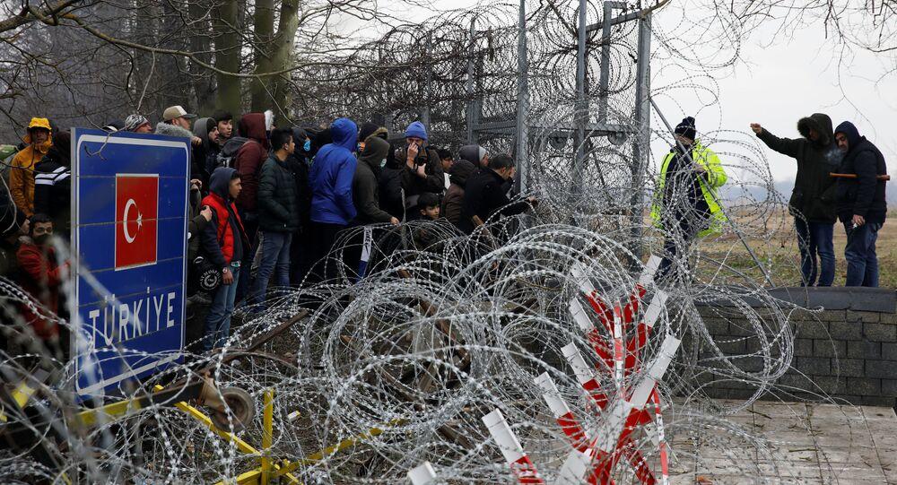 Sytuacja na granicy Turcji i Grecji