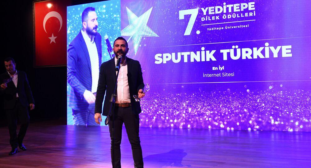 Redaktor naczelny Sputnika Turcja Mahir Boztepe
