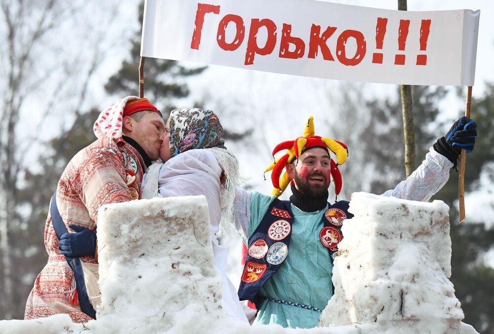 Obchody Maslenicy w obwodzie moskiewskim
