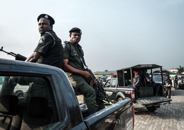 Policja w Nigerii