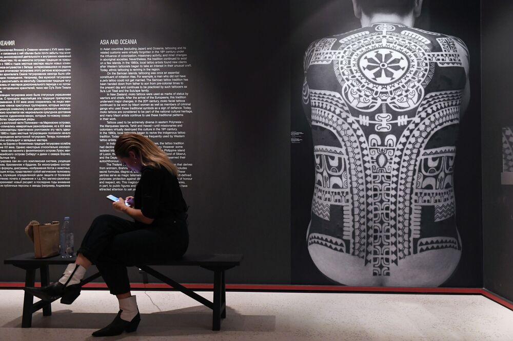 Wystawa Tatuaż w moskewskim Muzeum Sztuk Pięknych im. Puszkina
