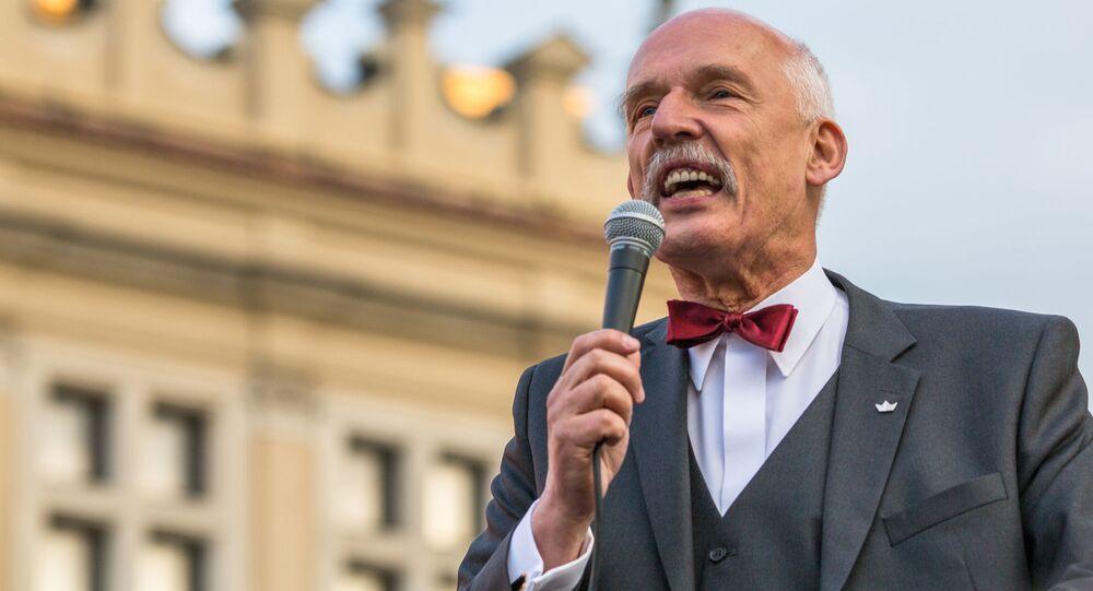 Janusz Korwin-Mikke.