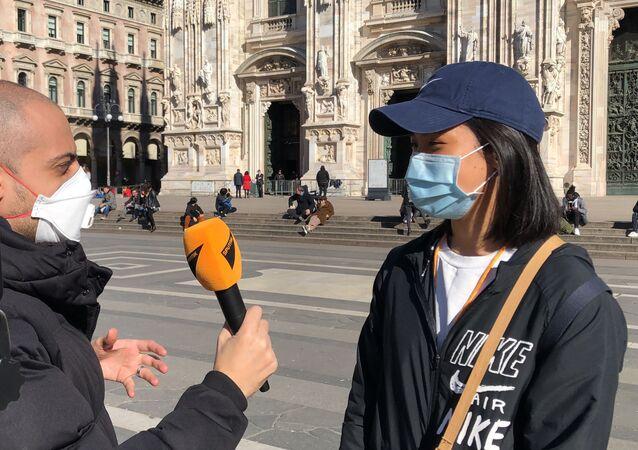 Korespondent Sputnika w Mediolanie