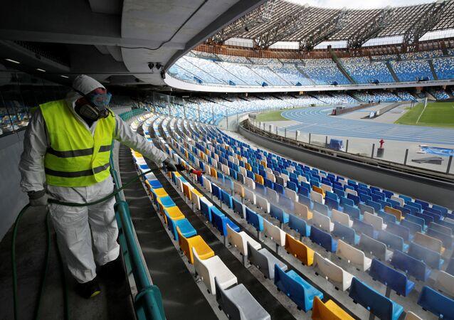 Stadion San Paolo w Neapolu, Włochy