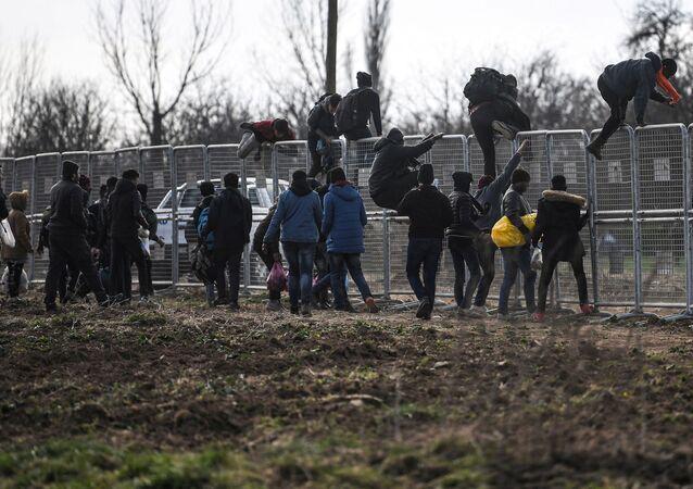 Sytuacja na granicy Grecji i Turcji