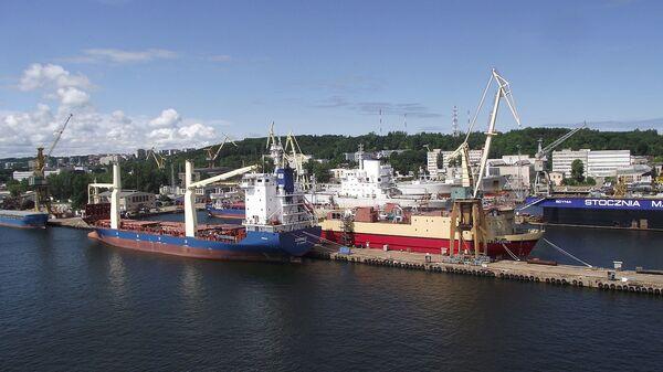 Port w Gdyni - Sputnik Polska