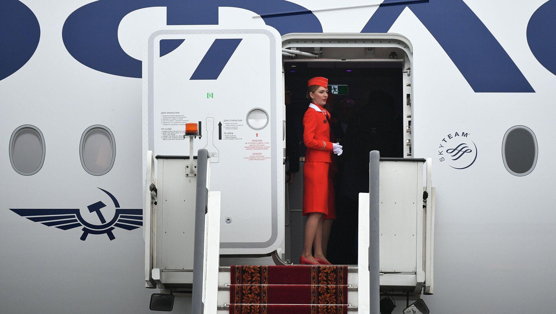 Nowy samolot Aibus A350-900 linii lotniczych Aeroflot - Sputnik Polska, 1920, 01.06.2021