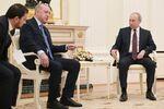 Prezydenci Rosji i Turcji podczas spotkania w Moskwie