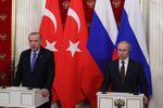 Prezydenci Rosji i Turcji na konferencji prasowej po spotkaniu w Moskwie