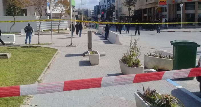 Eksplozja pod ambasadą USA w Tunezji