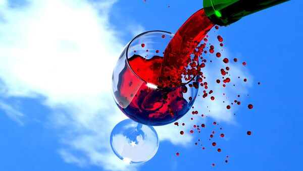 Czerwone wino - Sputnik Polska