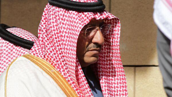 Były książę koronny Arabii Saudyjskiej Muhammad ibn Najif - Sputnik Polska
