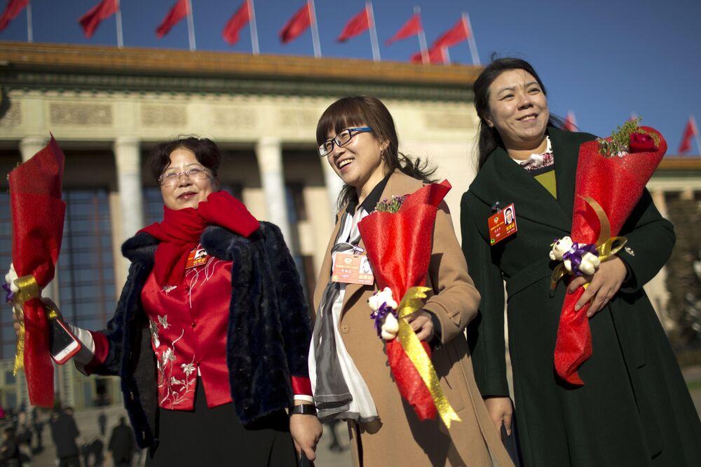 Dzień Kobiet w Pekinie