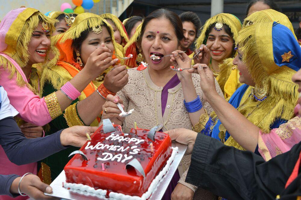 Dzień kobiet w Indiach