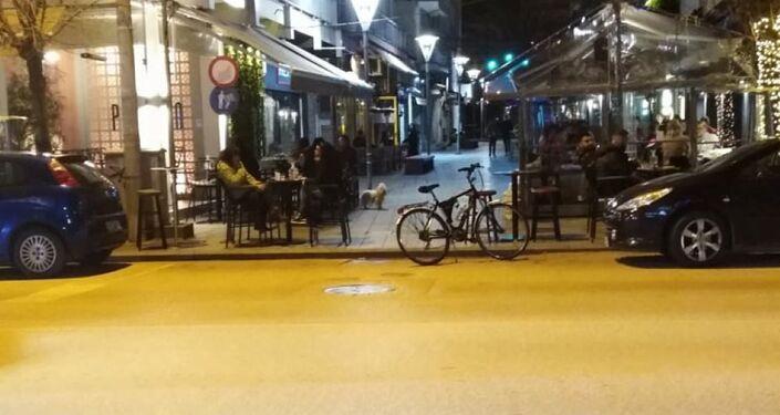 Ulice w Kastanies i Orestiada