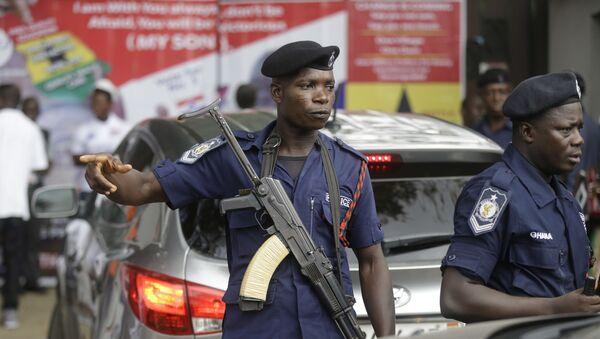 Policjanci w Ghanie. Zdjęcie archiwalne - Sputnik Polska