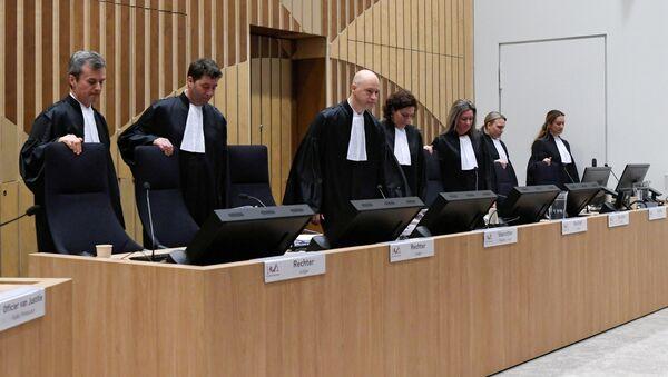 Sąd w sprawie MH17 - Sputnik Polska