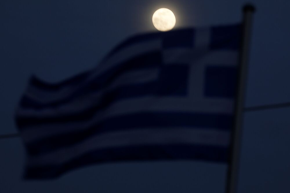 Superksiężyc w Grecji