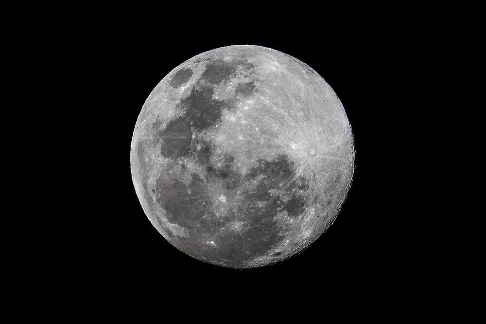 Superksiężyc nad Panamą
