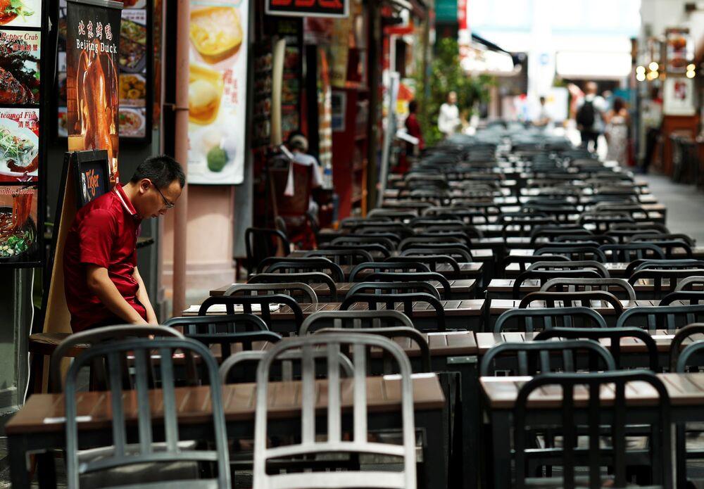 Restauracja w Singapurze