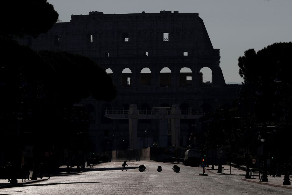 Koloseum bez turystów