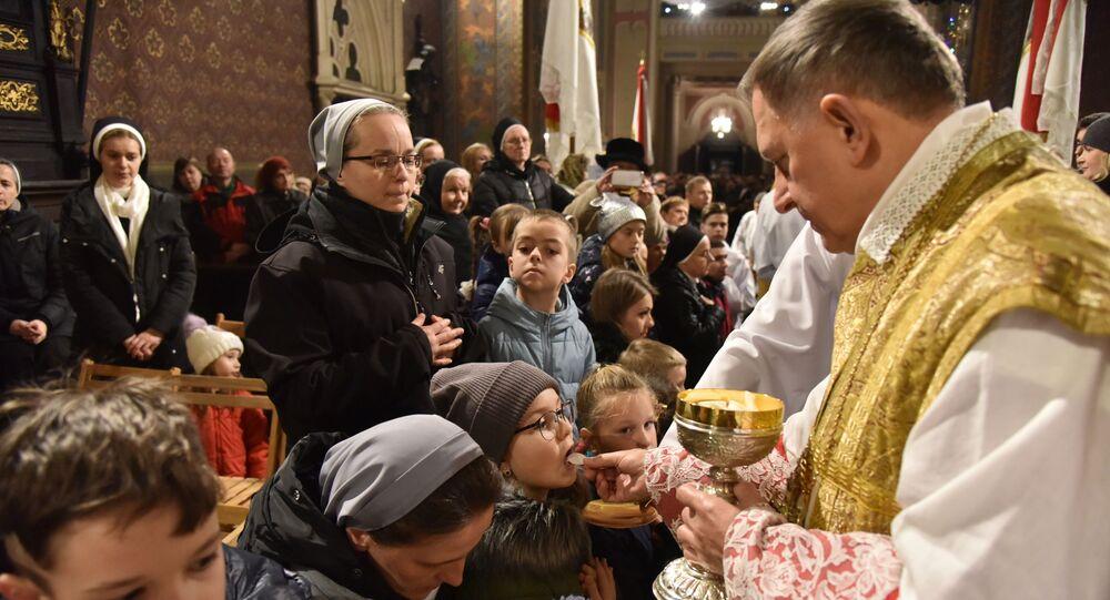 Msza w kościele katolickim