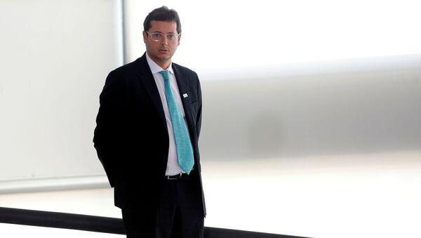 Fábio Wajngarten, szef biura komunikacji prezydenta Brazylii Jaira Bolsonaro - Sputnik Polska