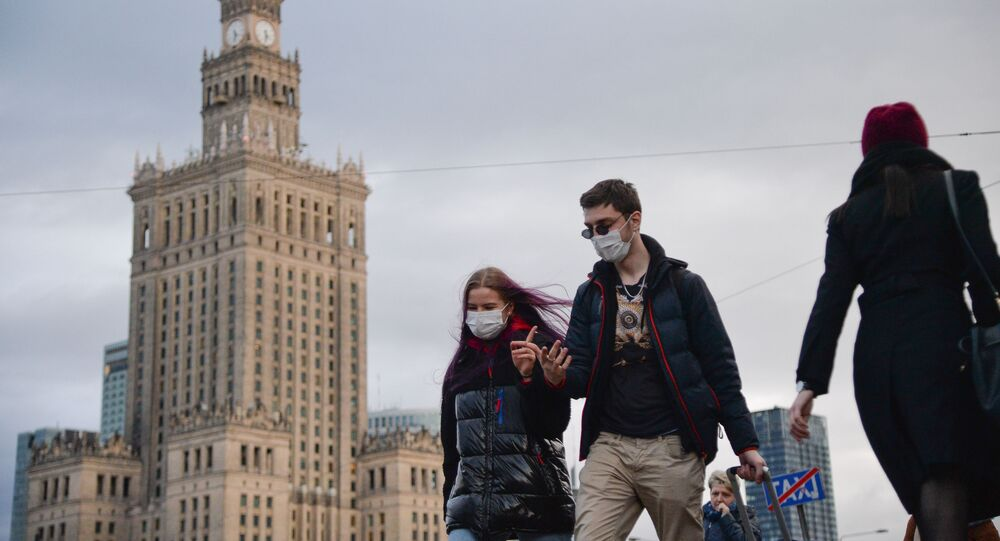 Sytuacja w Warszawie w związku z koronawirusem