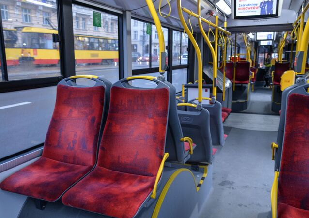 Pusty autobus