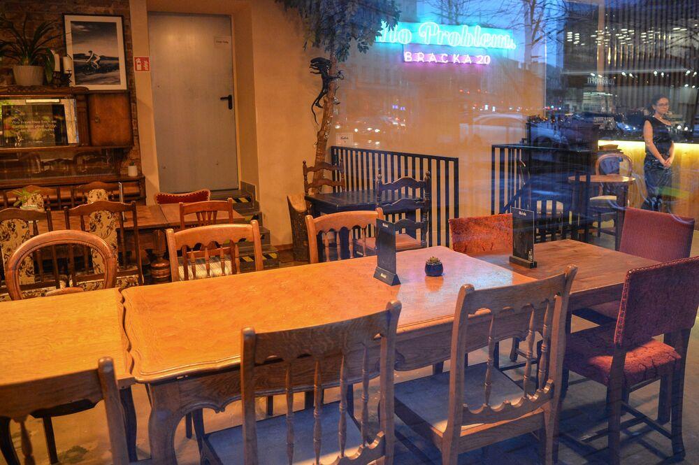 Restauracja bez gości