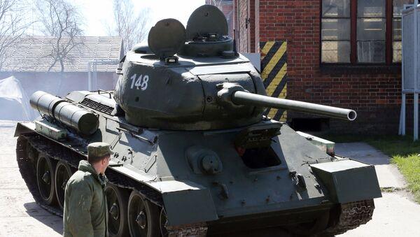 Czołg T-34 - Sputnik Polska
