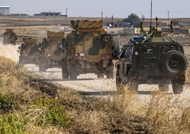 Rosyjsko-turecki patrol w Syrii