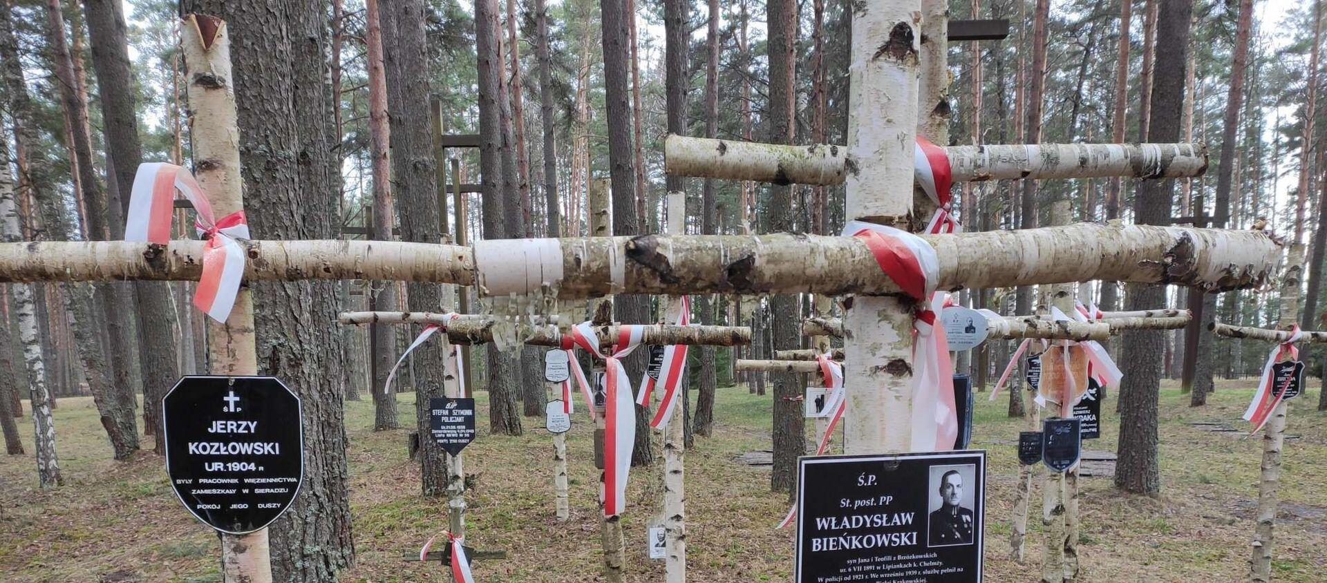 Polski Cmentarz Wojenny w Miednoje - Sputnik Polska, 1920, 19.05.2020