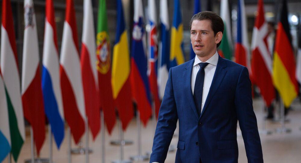 Szczyt UE w Belgii. Sebastian Kurz