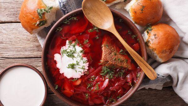 Barszcz z mięsem - Sputnik Polska
