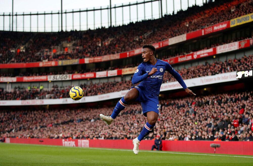 Callum Hudson-Odoi -  angielski piłkarz pochodzenia ghańskiego, napastnik w Chelsea