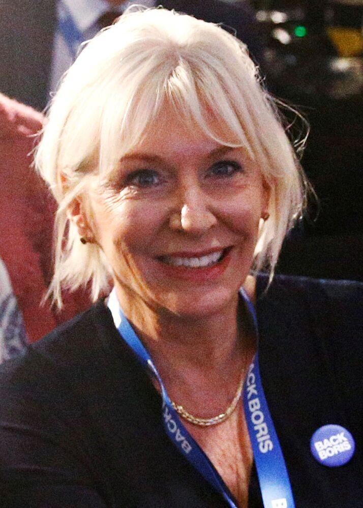 Wiceminister zdrowia Wielkiej Brytanii do spraw bezpieczeństwa pacjentów Nadine Dorries