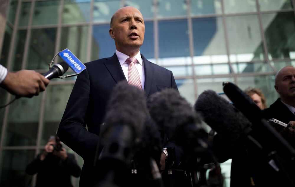 Australijski polityk Peter Dutton