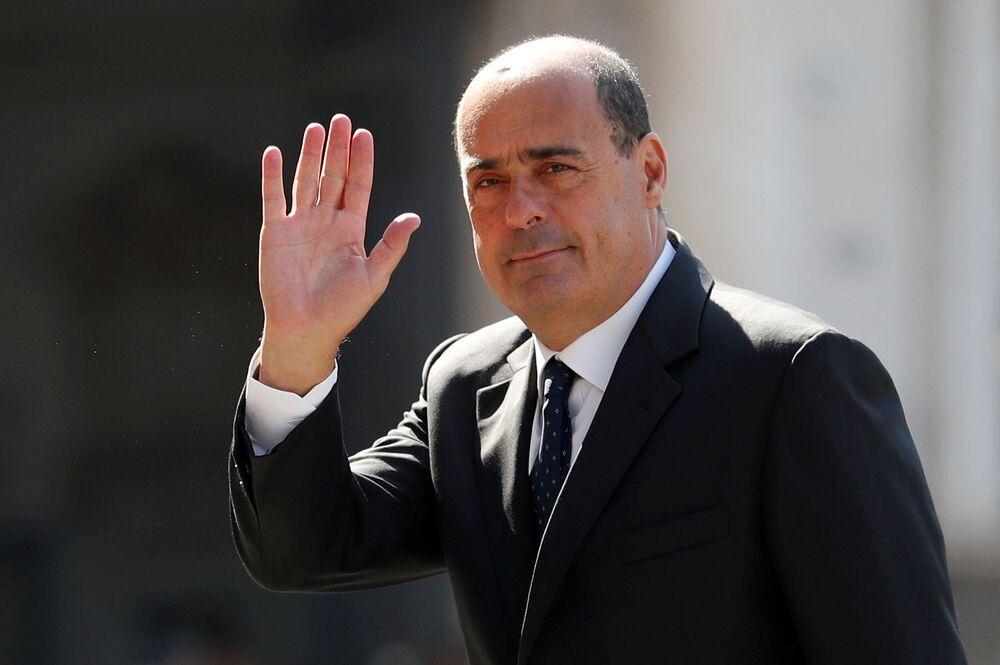Szef Partii Demokratycznej Włoch Nicola Zingaretti