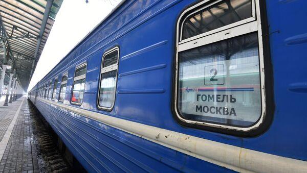 Pociąg relacji Moskwa - Homel  - Sputnik Polska