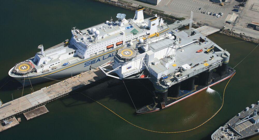 Pływający kosmodrom Sea Launch Commander