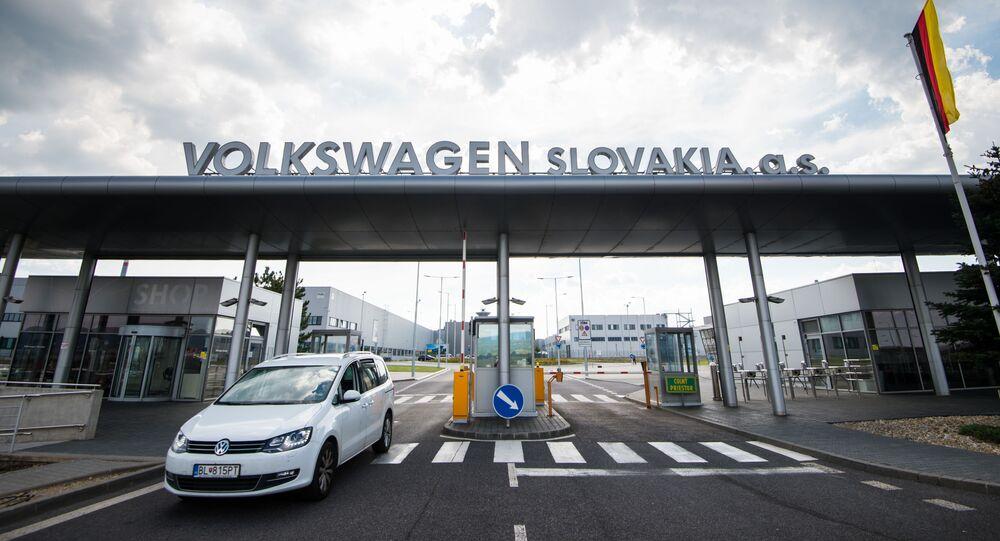 Fabryka Volkswagena na Słowacji