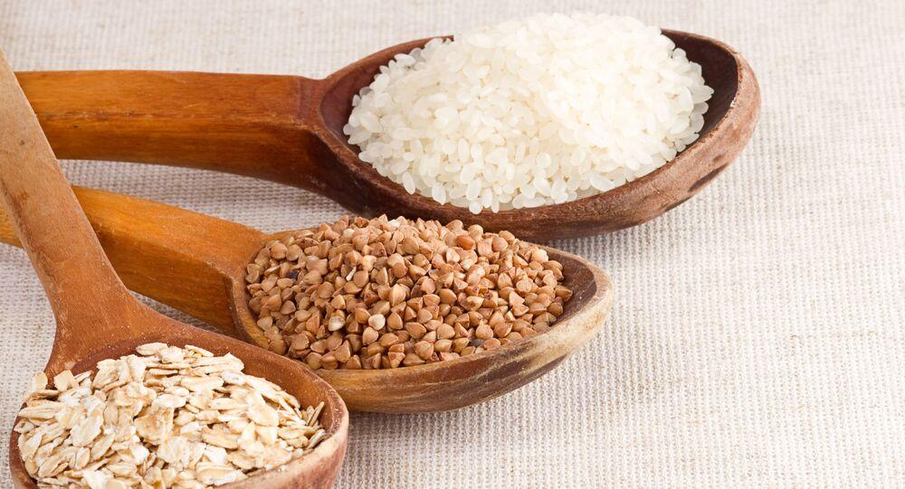 Kasza gryczana, owsianka i ryż