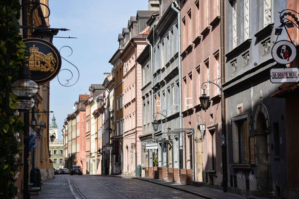 Ul. Piwna w Warszawie