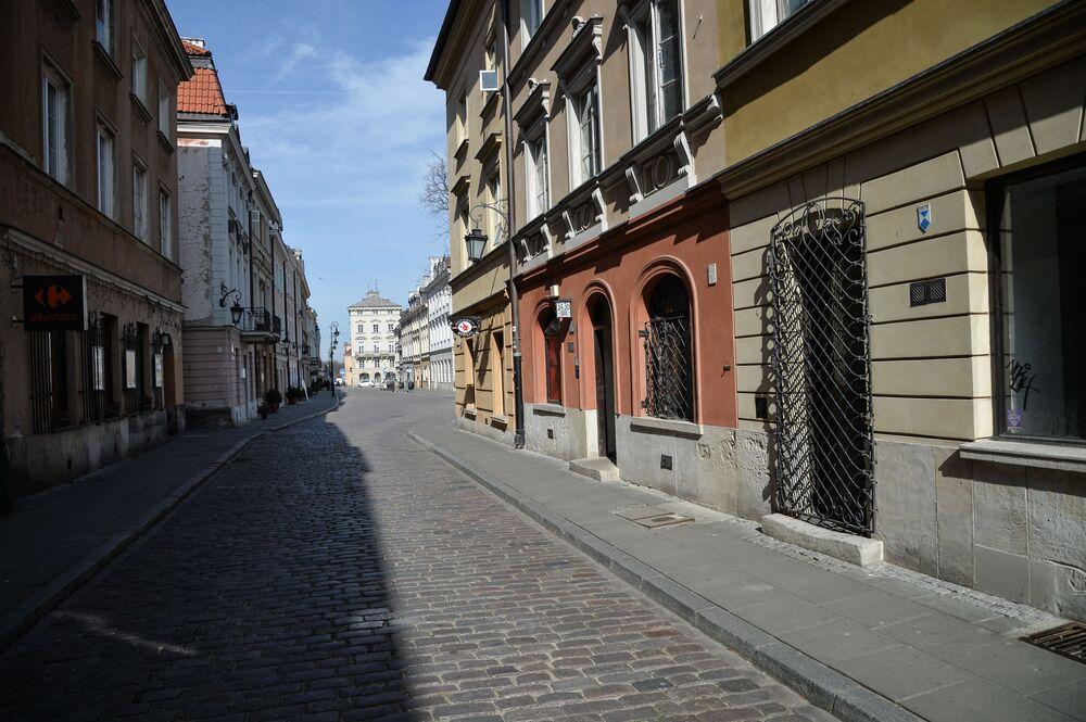 Ul. Freta w Warszawie
