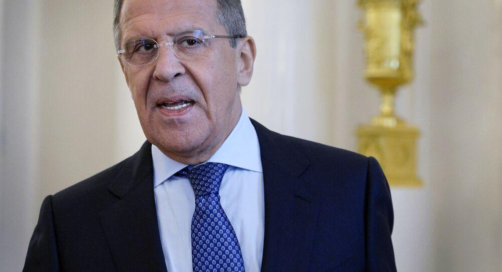 Minister spraw zagranicznych Rosji Siergiej Ławrow