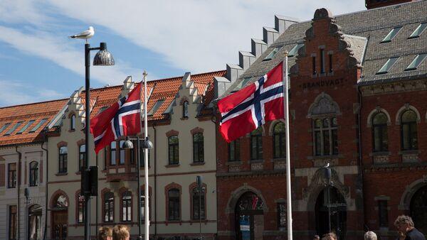 Norwegian flags - Sputnik Polska
