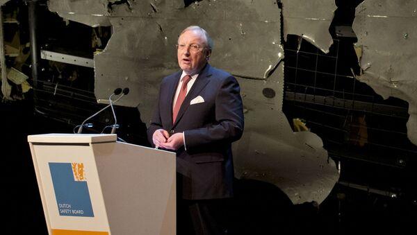 Przewodniczący Holenderskiej Rady Badawczej ds. Bezpieczeństwa Tjibbe Joustra - Sputnik Polska