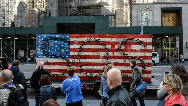 Nowy Jork przed wyborami prezydenckimi w USA - Sputnik Polska